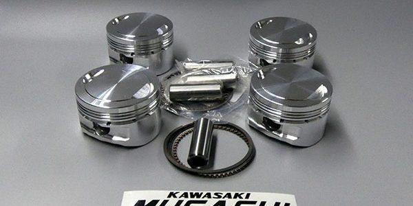 ムサシオリジナル カワサキ750ターボ用 67㎜鍛造ピストンキット